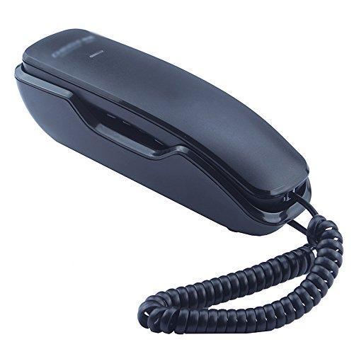 XUEYAN an der Wand befestigte fest verdrahtete Telefon- / Bürogeschäftshauptmini-kleine Verlängerung/Größe 190 * 60 * 58mm (Farbe : SCHWARZ)