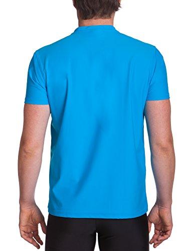 iQ-UV Herren 300 Regular Geschnitten, V-Ausschnitt Schutz T-Shirt Hawaii