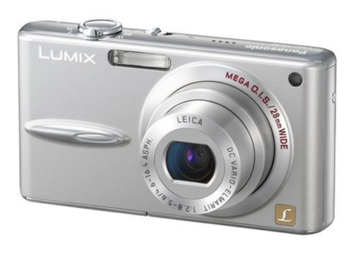 Panasonic DMC-FX30 EG-K Digitalkamera (7 Megapixel, 3,6-fach opt.Zoom, 6,4 cm (2,5 Zoll) Display, Bildstabilisator, 28mm Weitwinkel) mattschwarz Panasonic Sd-viewer