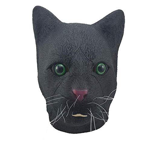 YaPin Halloween Maske lustige große Ohr Vajra Orang-Utan Maske Horror lustige große Mund AFFE Latex Tierkopfbedeckung
