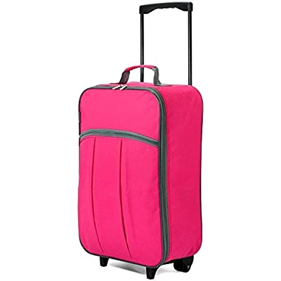 Foldable Ladies Girls Boys Hand Luggage on Wheels Cabin Bag
