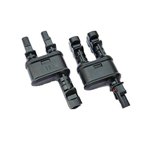MC4 Y-Stecker Paar / FFM + MMF / Solar Connector / Verzweigungsstecker/ 2 zu 1