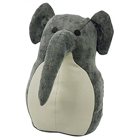 Capventure Rocky elephantdoorstopper/Buchstütze, Stoff, Mehrfarbig, 24x 13x 15cm