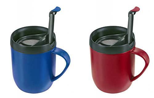 2 x Zyliss Smart Cafe One Cup Coffee Cafetiere