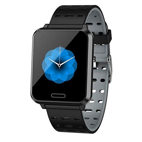 Multifunktions-Farbdisplay-Touchscreen Bluetooth Smart Sportuhr,Sportdaten-Tracker,Schlafüberwachung,Informationsabfrage,Social Sharing,IP67 Wasserdicht,Kompatibel mit iOS Android PC-Gerät