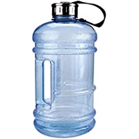 Lavillede Hellblau 2,2 Liter Outdoor Sport Wasserflasche Sportflasche Outdoor Indoor Wasser Tasse * 1