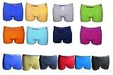 13 UOMO Kinder Jungen Boxershorts Mikrofaser Unterhosen, 12er Pack, Farbe mehrfarbig, Size 6-8