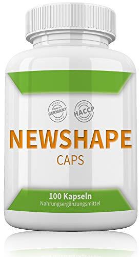 New Shape By myshapeup | 100 Kapseln | Frauen | Hochdosiert | Definition Abnehmen Fettverbrenner Diät | Extreme Fatburner Schnell Wirksam Und Gut von Experten Ohne Fasten