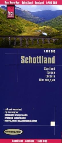 Scotland rkh r/v (r) wp GPS por Reise Know-How Verlag GmbH