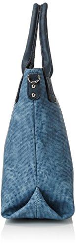Borsa A Tracolla Jessy Da Donna, Su Misura, 14.5x32x38 Cm Blu (blu)
