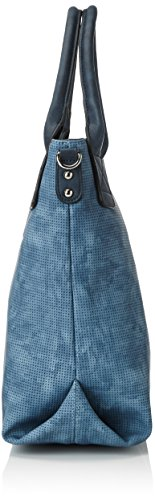 TOM TAILOR Damen Jessy Schultertasche, 14.5x32x38 cm Blau (Blau)