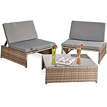 Rattan lounge grau  Suchergebnis auf Amazon.de für: rattan lounge grau