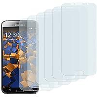 6 x mumbi Schutzfolie Samsung Galaxy S6 / S6 Duos Folie Displayschutzfolie (bewusst kleiner als das Display, da dieses gewölbt ist)