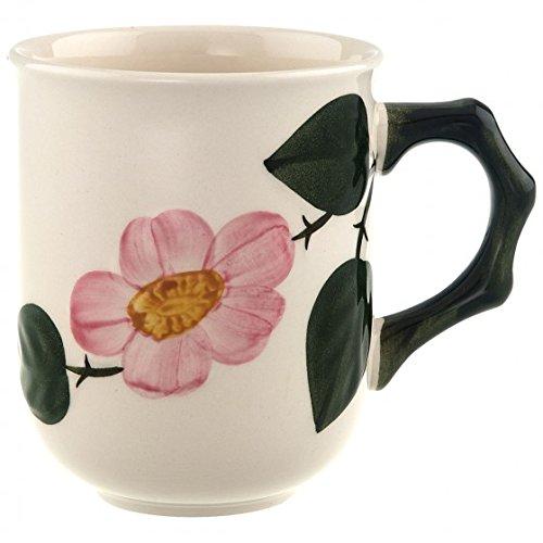 Villeroy & Boch 10-1222-4870 Wildrose Becher mit Henkel Kaffeebecher, Porzellan, 32.20 x 21.50 x 11.7 cm