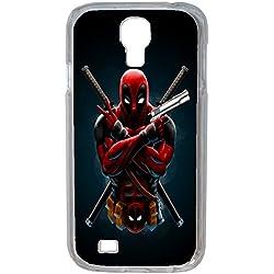 Aux prix canons - Etui Housse Coque Originale Marvel Deadpool Swag Samsung Galaxy S4 Mini