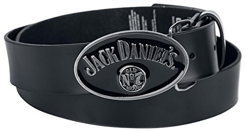 Jack Daniel's Cintura pelle nero S