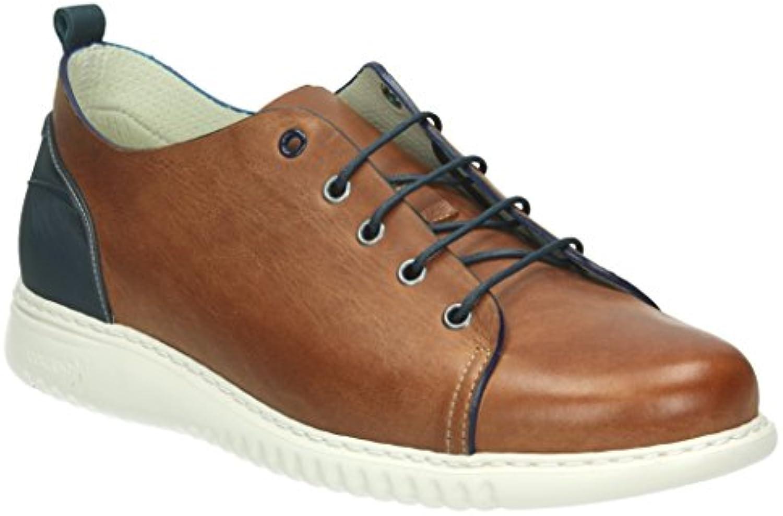 ON FOOT 571 Zapatos Cordones Hombre Color Cuero Talla: 39 -