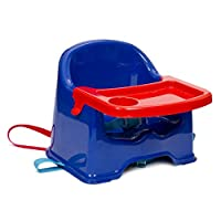 Kiddywinks Booster Seat with Tray (Blue with red)