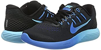Nike Lunarglide 8, Women's Competition Running Shoes, Black (Blackmlt-clear-deep Royal Blue-photo Blue), 4 Uk (37.5 Eu) 4