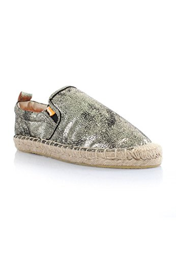 Superdry Ashlee Espadrille Femme Chaussures Metallic Or