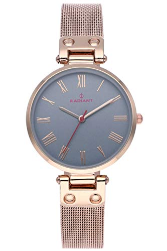 Radiant juliana orologio Donna Analogico al Al quarzo con cinturino in Acciaio INOX placcato RA495602