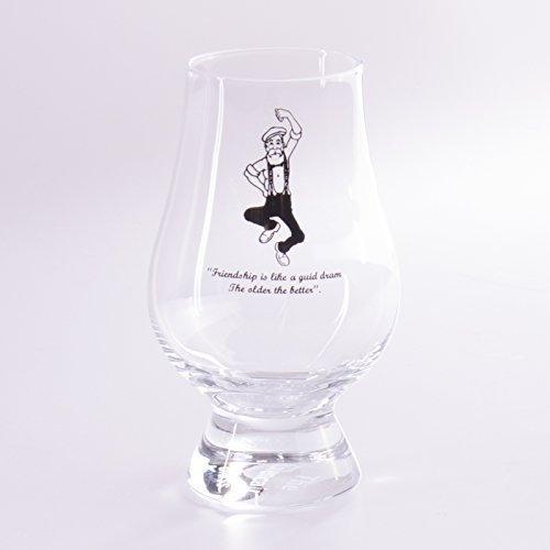 """Die offizielle Glencairn Scottish, Irish Whisky Glas-Granpaw \""""Broon\'s Special Edition"""