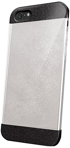 Celly Glamme Cover Glitter per iPhone 6, Nero
