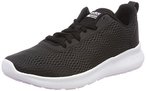 adidas Damen Cloudfoam Element Race Traillaufschuhe, Schwarz (Negbas/Carbon/Aerorr 000), 38 2/3 EU -