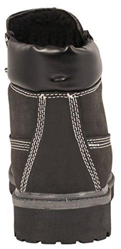Elara - Stivali da Motociclista Donna Nero