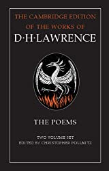 The Poems 2 Volume Hardback Set (The Cambridge Edition of the Works of D. H. Lawrence)