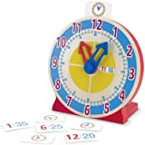 Melissa & Doug Turn and Tell Clock, Multi Color