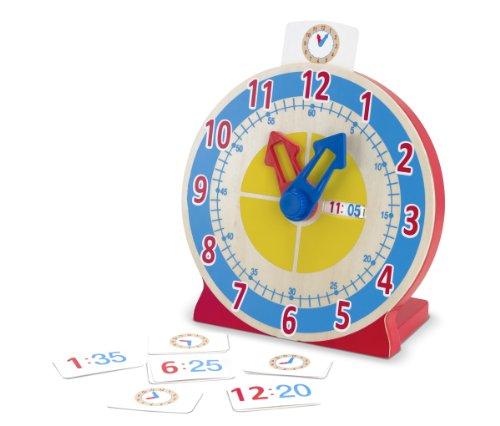 Melissa & Doug Turn and Tell Clock, Multi Color