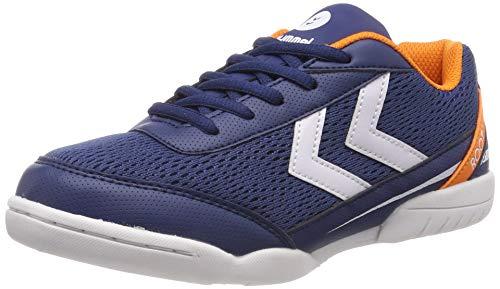 Hummel Unisex-Kinder Root JR LC Trophy Multisport Indoor Schuhe, Blau (Poseidon 8616), 38 EU