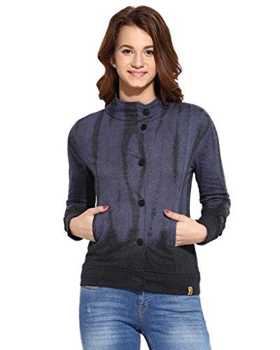 Campus Sutra Women Jacket(AW16_JKHNKSPR_W_PLN_DN_M)