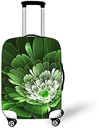 Dbtxwd Cubierta protectora de la maleta 3D Flores creativas de la fantasía Impresión Resistente al desgaste a prueba de polvo Cubierta de equipaje de viaje resistente a los arañazos 18-28 pulgadas , 6 , l