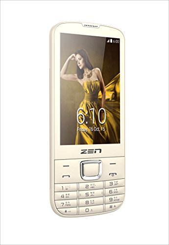 ZEN M88 King Dual SIM Feature Phone (Gold) image