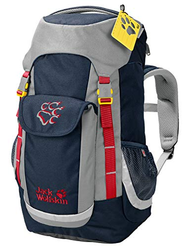 Jack Wolfskin Kinder Kids Explorer Wandern Outdoor Trekking Rucksack, Night Blue, ONE Size