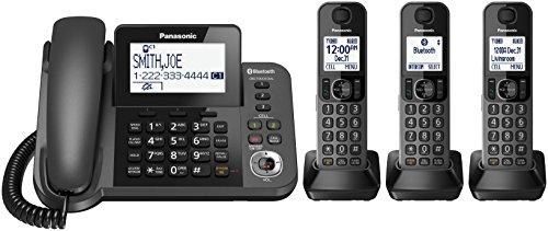 Panasonic kx-tgf380m DECT Handset Festnetz Telefon
