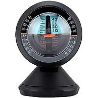 Nivel del Inclinómetro del Coche, Ángulo de Pedestal Giratorio de 360 Grados Herramienta del Buscador del Metro del Nivel de La Pendiente Inclinación del Gradiente del Vehículo del Vehículo