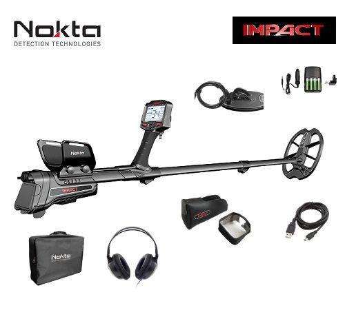 Nokta Impact Pro Detector de metales profesional cerca Oro Monedas placas Auriculares New