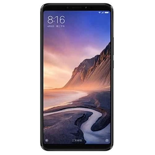 "Xiaomi Mi MAX 3 - Smartphone DE 6.9"" (RAM de 4 GB, Memoria de 64 GB, cámara DE 12+5 MP, Android 8.1) Color Negro"