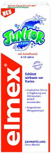 Elmex Junior Zahnspülung, 6er Pack (6 x 400 ml)