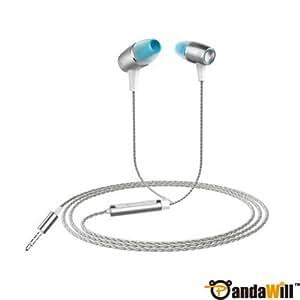 Cool HuaWei Honor Engine In-ear Earphone 3.5mm Stereo Headphones With Mic