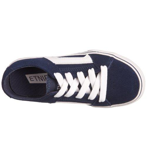Etnies Rss, Unisex - Kinder Sportschuhe - Skateboarding Blau (Navy/White)