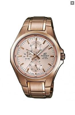 Casio EF-339G-9A - Reloj (Pulsera, Masculino, Oro, Acero, 2 Año(s), 4.35 cm, 4.98 cm) de Casio