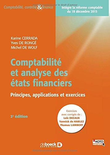 Comptabilité et analyse des états financiers (comptabilité belge)