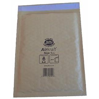 10 x JIFFY JL1 PADDED DVD CD BAGS ENVELOPES 170x245mm
