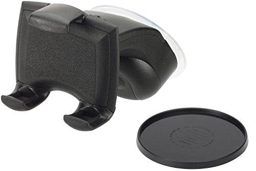 Handy-kfz Kits (hr-imotion kompakte Universal Halterung Quicky Smart S für alle Smartphones & Handys zwischen 58 und 84mm)