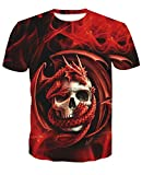 NSDX Camiseta 3D De Hombre Estilo De Verano Camiseta De Hip Hop Hombres/Mujeres...