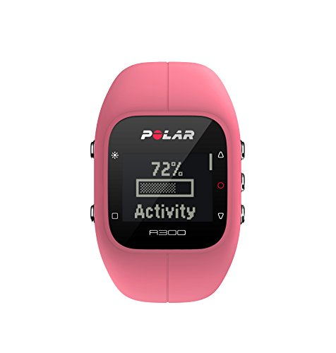 Polar A300 Fitness and Activity Tracker with Heart Rate Monitor – Pink